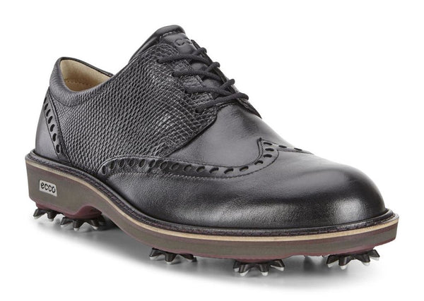 ECCO MENS GOLF LUX - BLACK/BLACK