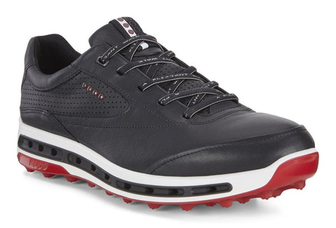 ECCO MENS GOLF COOL PRO - BLACK/BRICK