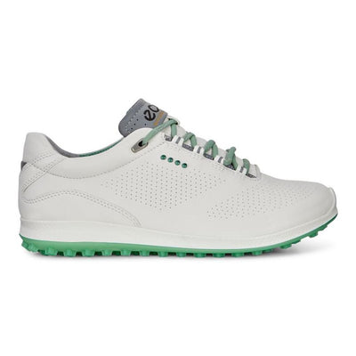 ECCO Women's - GOLF BIOM HYBRID 2 - WHITE/GRANITE GREEN