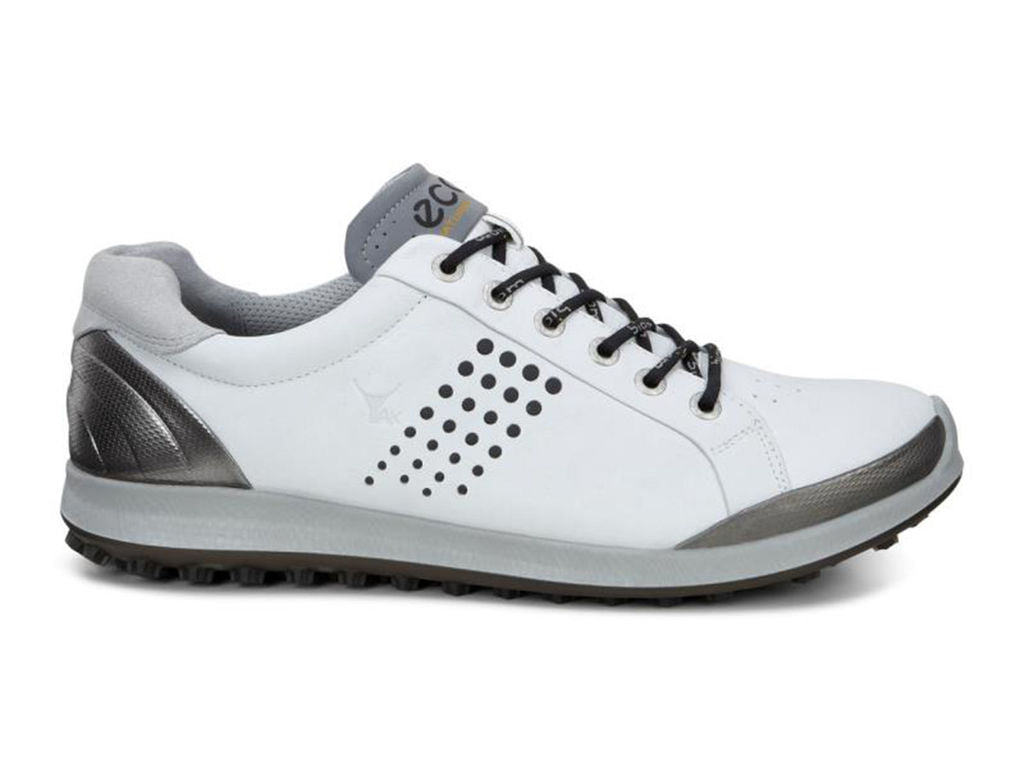 98cd2ed65faa ECCO MENS BIOM HYBRID 2 - WHITE BLACK - Golf Anything Canada