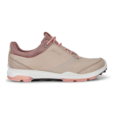 ECCO WOMENS GOLF BIOM HYBRID 3 GTX - OYSTER /MUTED CLAY