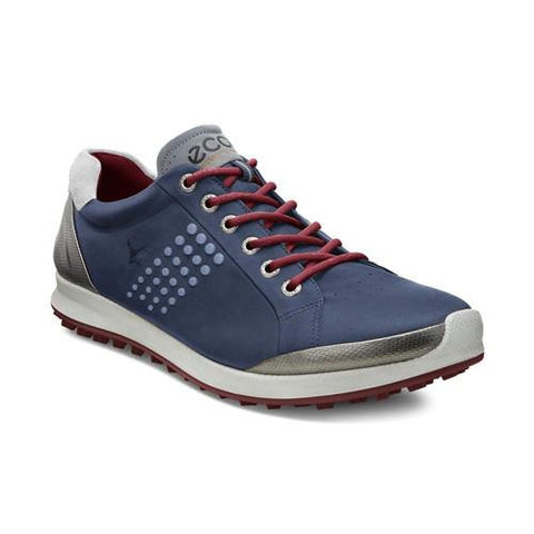 ECCO Men's BIOM Golf Hybrid 2 - True Navy/Brick