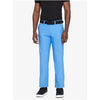 J.L Ellott Bonded Reg Fit Micro Stretch Pants - Silent Blue