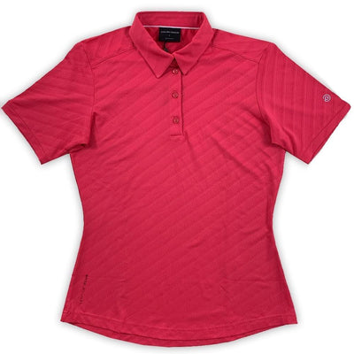 Galvin Green Womens MEREDITH VENTIL8™ PLUS Polo - CHERRY