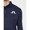J.LINDEBERG Mens - TOUR TECH LONG SLEEVE TX JERSEY Big Bridge - JL NAVY