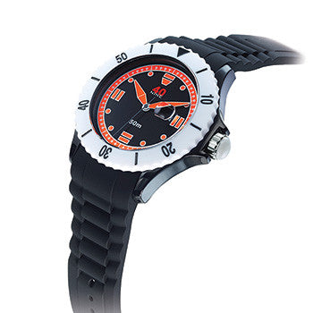 40NINE Black and Orange Watch