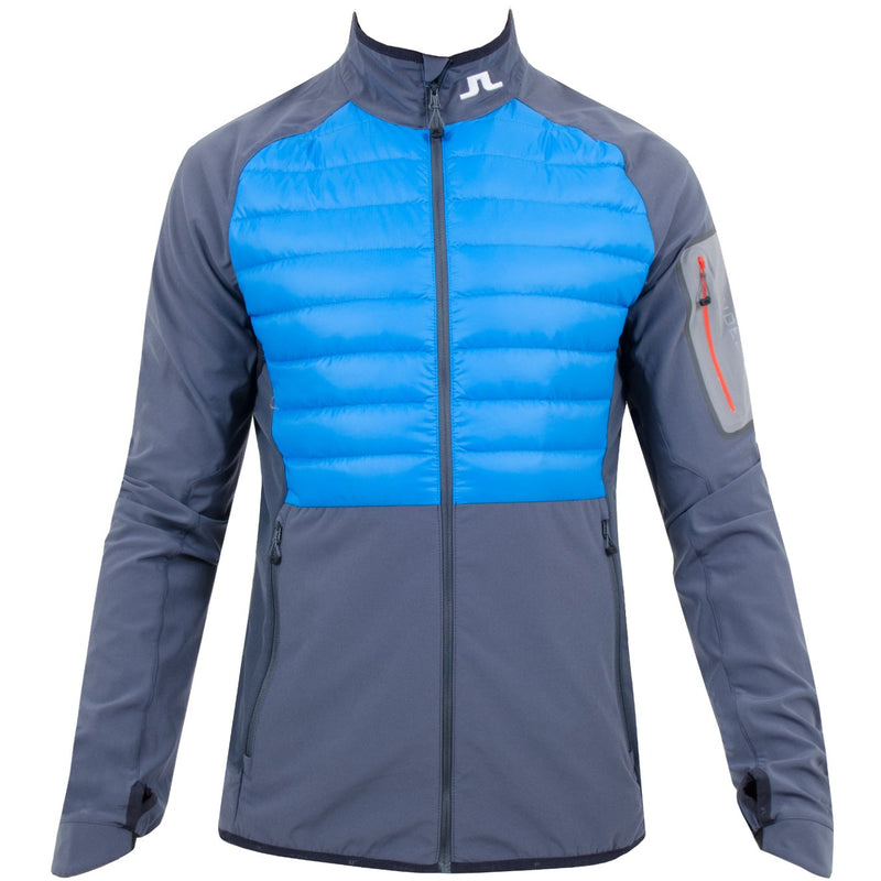 J Lindeberg Men's Hybrid Jacket Pertex - ELECTRIC BLUE