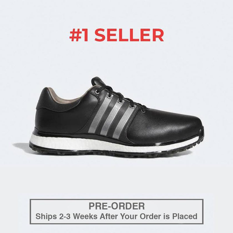 ADIDAS MEN'S GOLF TOUR360 XT-SL SPIKELESS SHOES - BLACK / IRON / WHITE
