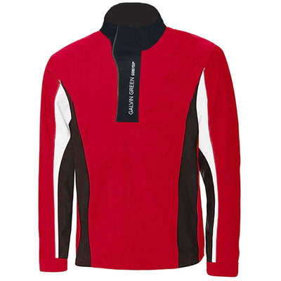 Galvin Green Mens ADDISON Gore-Tex Waterproof Golf Jacket - RED/BLACK/WHITE