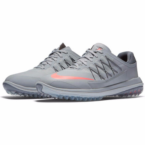 Nike Men's Lunar Control Vapor Golf Shoes - WOLF GREY/LAVA GLOW-DARK GREY
