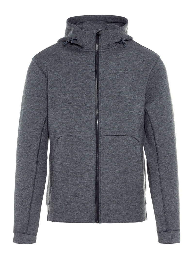 J Lindeberg Men's Athleisure Athletic Hoodie TS - GREY MELANGE