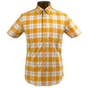 Abacus Monaco Reston Short Sleeve- Nectarine Check