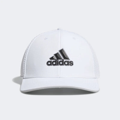 Adidas Mens A-STRETCH TOUR CAP - WHITE