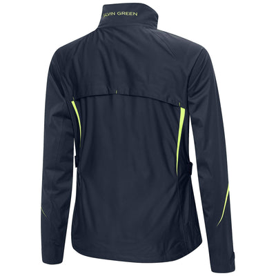 Galvin Green Womens ARIANA C-Knit Gore-Tex Waterproof Jacket - NAVY / LIME