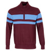 J. LINDEBERG  Mens - LTD EDITION AZIM WOOL COOLMAX - DARK MAHOGANY