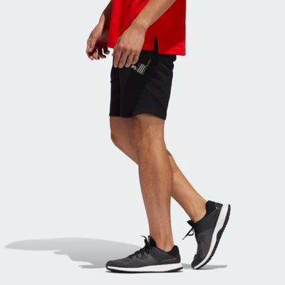 adidas Men's ADICROSS WARP KNIT SHORTS - Black