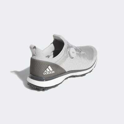 ADIDAS MEN'S GOLF FORGEFIBER BOA SHOES - GREY TWO / CLOUD WHITE / GREY SIX