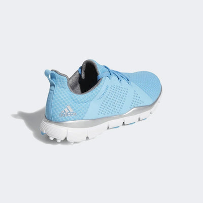 ADIDAS WOMEN'S CLIMACOOL CAGE SHOES - BRIGHT CYAN / BRIGHT BLUE / SILVER METALLIC
