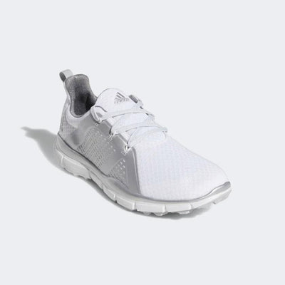 ADIDAS WOMEN'S CLIMACOOL CAGE SHOES - CLOUD WHITE / SILVER METALLIC / GREY TWO
