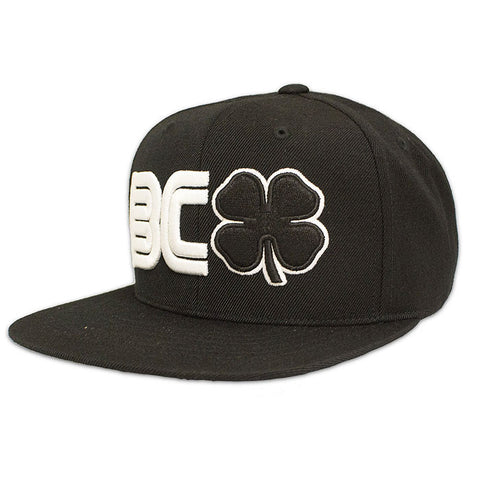 BLACK CLOVER -BC Flat #2- Black/White Hat
