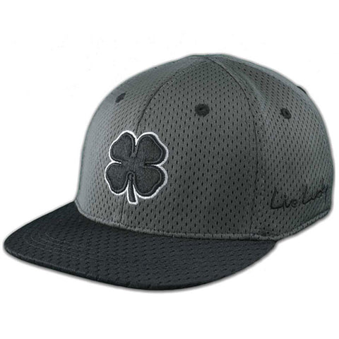 BLACK CLOVER - FLAT LUCKY MESH #1 -Black/White/Grey