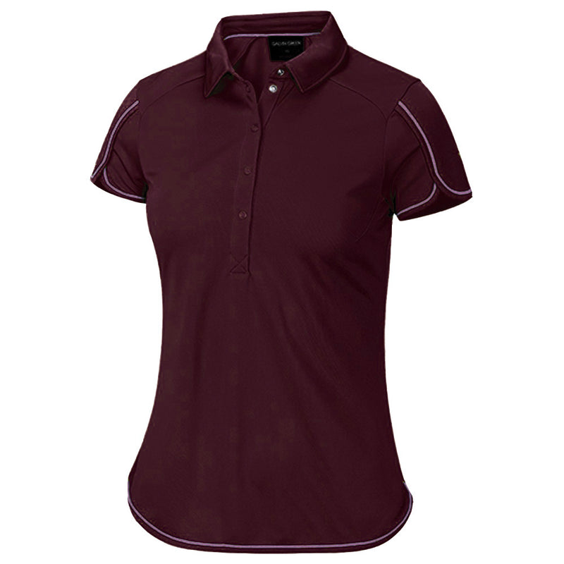 Galvin Green Womens Mavis VENTIL8™ PLUS Polo - WINEBERRY