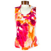 Womens Catwalk Taylor Sleeveless Golf Top - Serene Coral