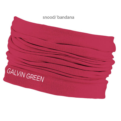 Galvin Green DELTA SNOOD - UNISEX INSULA MULTI FUNCTION NECK/ HEAD WARMER - DEEP PINK