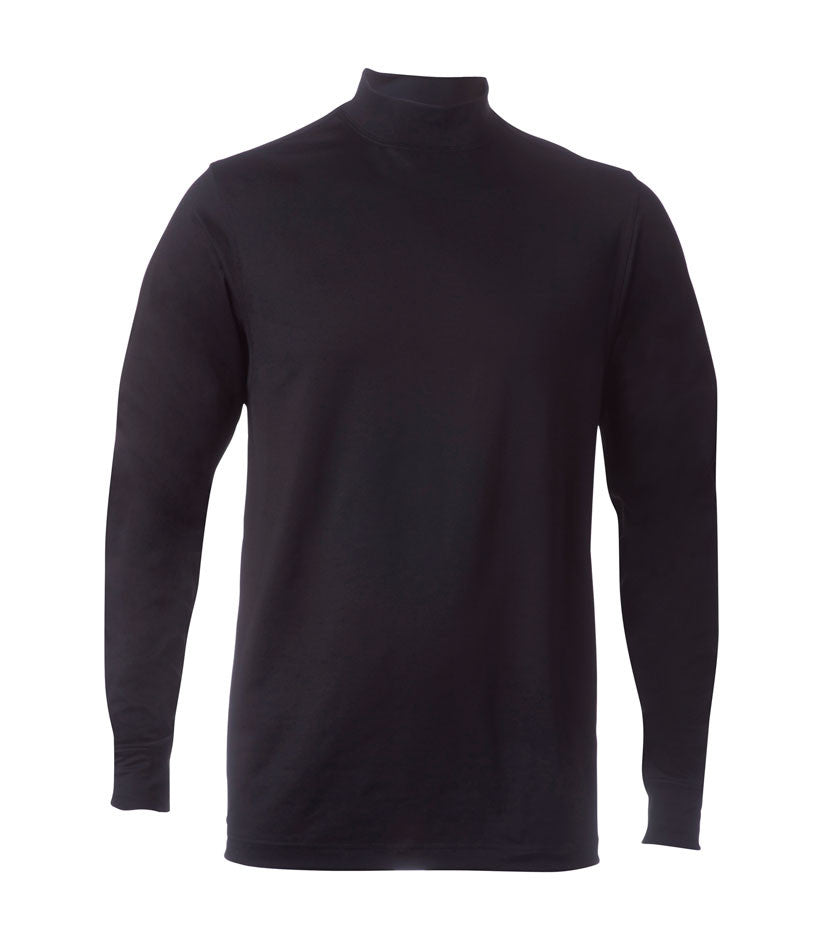 Thermal Stretch Mock Long Sleeve