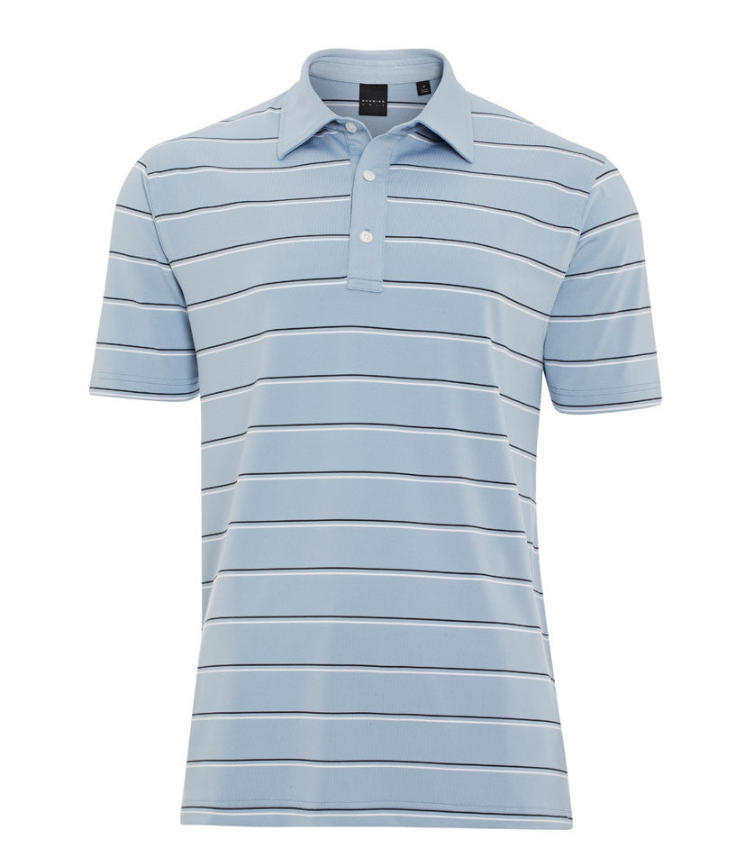 Stretch Jersey Stripe Polo