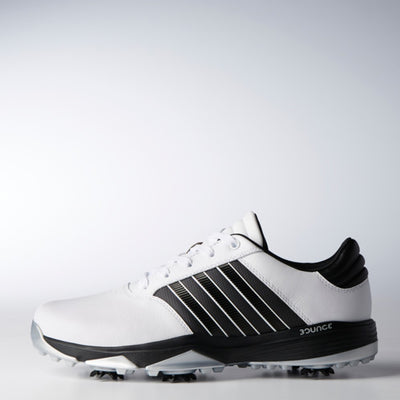 ADIDAS MEN'S SPIKED 360 BOUNCE - BLACK/WHITE