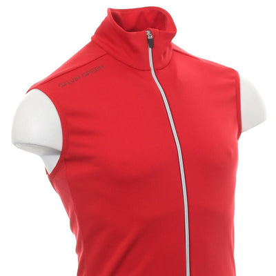 Galvin Green Mens DEVIN Insula Golf VEST - RED