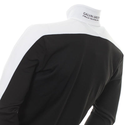 Galvin Green Mens DEX Insula Golf Jacket - BLACK / WHITE