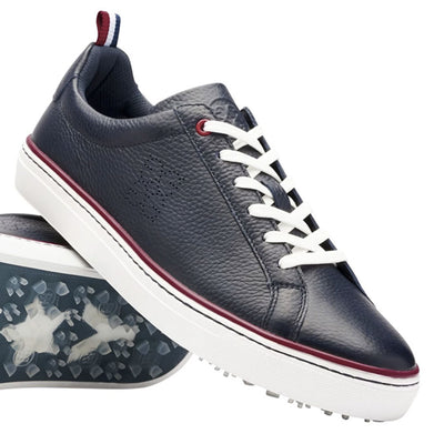 G/FORE MENS PATRIOT DISRUPTOR GOLF SHOE - TWILIGHT -  SZ 9.5