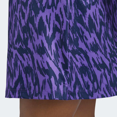 adidas Women's ULTIMATE PRINTED SPORT SKORT - ACTIVE PURPLE