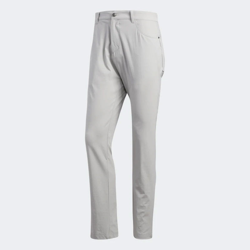 adidas Men's ADICROSS FIVE-POCKET SLIM FIT PANTS - Lt. GREY