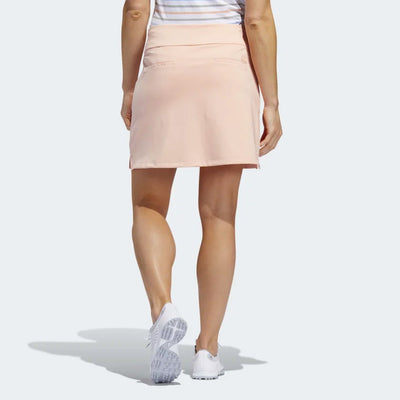 adidas Women's GOLF ULTIMATE SPORT SKORT - GLOW PINK