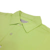 Donald Ross Mens Short Sleeve SOLID JERSEY, Self Collar - LIME