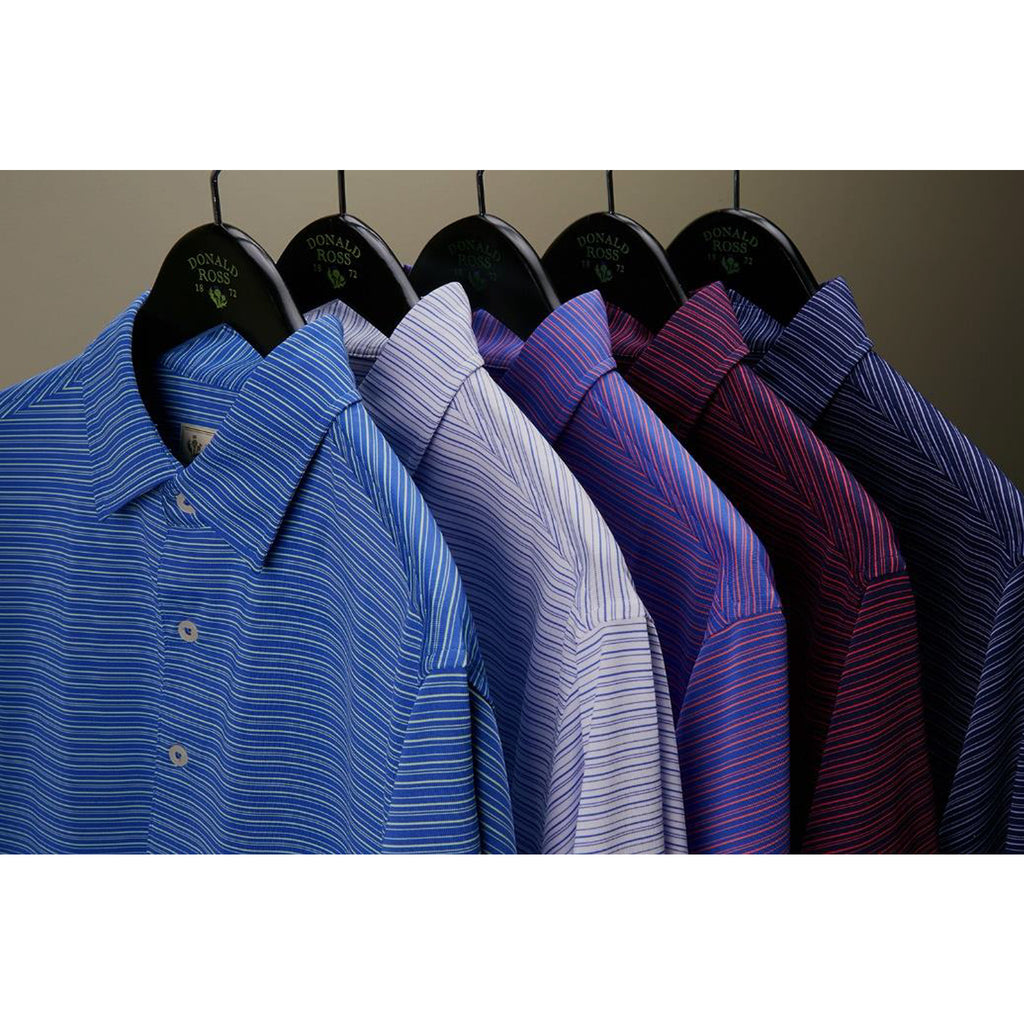 Mens Short Sleeve 2 Color Multi-Stripe JERSEY