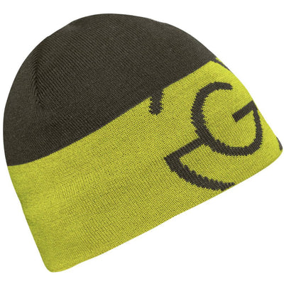 Galvin Green Mens LIAM Gore Windstopper Beanie - BELUGA/LEMONADE