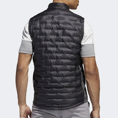 ADIDAS MENS FROSTGUARD INSULATED DOWN VEST - BLACK