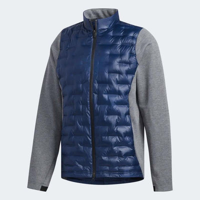 ADIDAS MENS FROSTGUARD INSULATED DOWN JACKET - NAVY