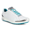 ECCO Women's - BIOM Golf Hybrid HM - White/Capri Breeze