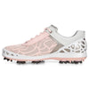 ECCO Women's - Cage Evo Golf Shoes - Silver Pink Textile