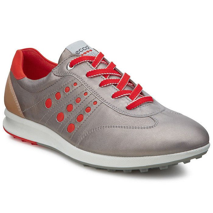 ECCO Street EVO One Sport Womens Golf Sho- MOON ROCK / FIRE