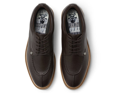 G/FORE MEN'S PINTUCK GALLIVANTER GOLF SHOE - ESPRESSO