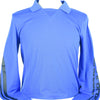J Lindeberg Mens - Elias Long Sleeve Polo - Daz Blue