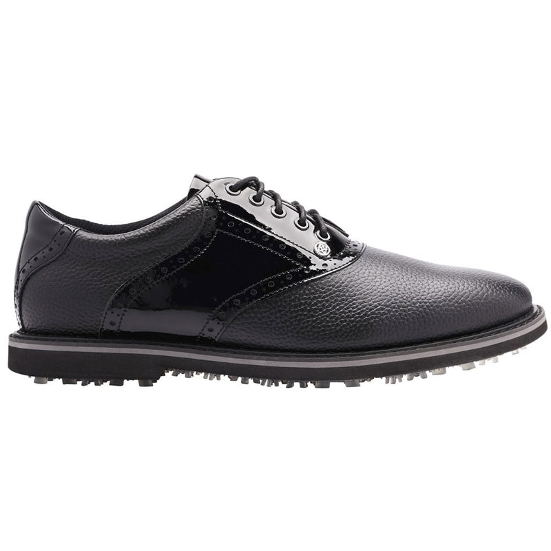 G/FORE MENS SADDLE GALLIVANTER GOLF SHOE - ONYX -  SZ 11