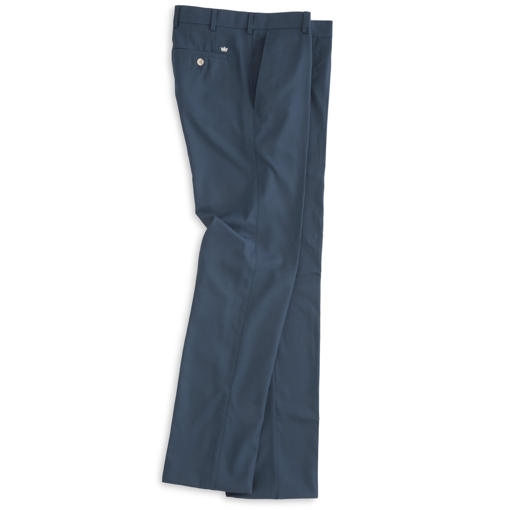 Peter Millar - Mens Durham High Drape Performance Pant - MIDNIGHT -SZ 34/30