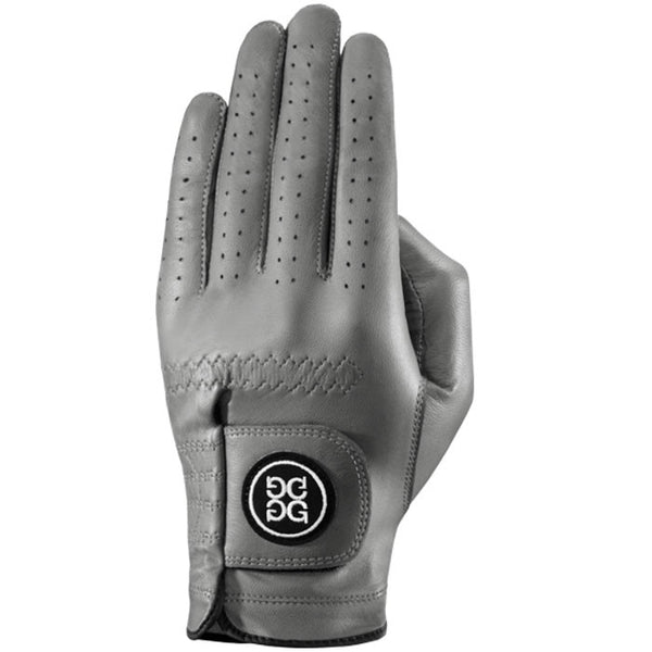 G-Fore Charcoal Leather Glove WOMENS
